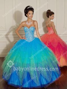 These two dresses are beautiful