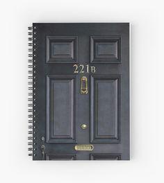 221b baker street black wood door Spiral Notebooks @pontsalestore #SpiralNotebooks #Spiral #Notebooks #card #tardis #tardisdoctorwho #doctorwhoart #starrynight #davidtenant #petercapaldi #mattsmith #riversong #phonebox #bluephonebooth #publiccallbox #dalek #theangel #badwolf #vangogh #davidtennant #10th #exploded #timemachine #abandoned #jungle #sherlock221b
