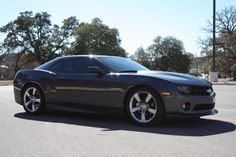 My car, a 2011 Chevrolet Camaro, RS / 2LT in cyber gray metallic. You only live once, might as well have fun driving to work!