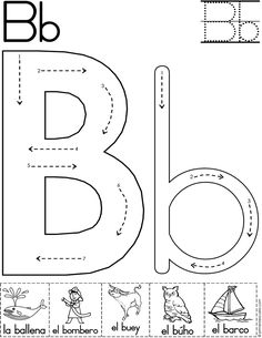 M i maria438jo on pinterest letter b worksheets for preschoolers spiritdancerdesigns