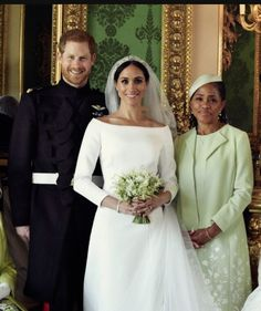Duke and Duchess of Sussex with Doria