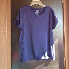 Navy tshirt Soft comfy navy blue t shirt Faded Glory Tops Tees - Short Sleeve