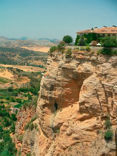 Cliffs and Canyon of Ronda, Spain