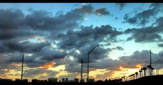 #wpb #tomiamilakes #fromjupiter #view #sky #clouds #blue #florida #sunrise #jibarosenlaluna #boricuas #streetview #viewfrommywindow #driving #love #familia #commute #driving #inmywaytowork