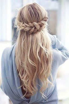 Wedding Hairstyles: unique wedding hairstyles braided hair  #weddings #weddingideas #hairstyles #fas... TrendyIdeas.net | Your number one source for daily Trending Ideas