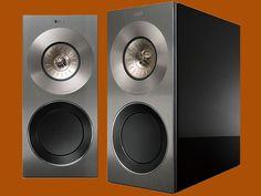 Maximum fidelity: The KEF Reference 1 speaker Audiophile Speakers, Hifi Audio, Speaker Kits, Tecno, Loudspeaker, High Gloss, Bookshelves, Gadgets, Pairs