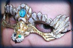 Gold Owl Mask
