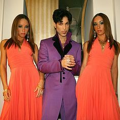 Prince and The Twinz - his back up dancers and vocalists on the Welcome 2 America Tour & Welcome 2 Australia Tour & 21 Nights in London