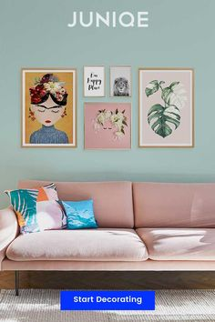 Colourful wall & interior decoration| Shop wall art by colour, theme and style at JUNIQE | Designs printed on gallery-quality paper using eco-friendly inks | Wall art delivered ready-to-hang.