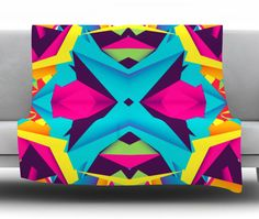 The Youth by Danny Ivan Fleece Throw Blanket