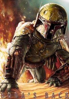 Boba Fett en la segunda Star Wars Anthology