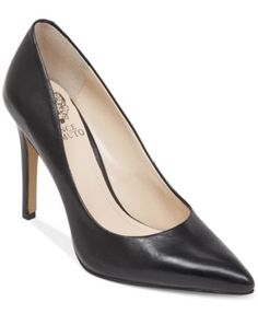 Vince Camuto Kain Pointed Toe Mid Heel Pumps