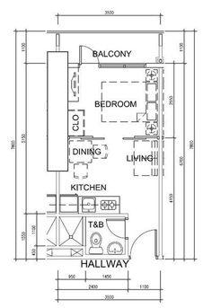 Проект небольшой квартиры — Информационный портал
