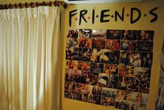 Decorate gallery wall and fulfill with FRIEND it's look amzing