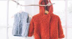 Adorables, ces deux créations en tricot tiendront bébé bien au chaud pendant l'hiver, tout en étant très tendance ! Le paletot orange Fournitures Fil Bonbon de Katia, 4 (4) 5 pelotes coloris 220 Aiguilles à tricoter n °5 2 boutons pression Tailles : 6 mois (12 mois) 18 mois >