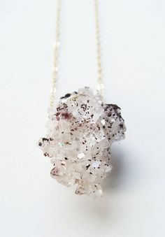 SALE 35% OFF: Dalmation Crystal Necklace Gold by friedasophie