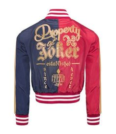 Want this Harley Quinn Property Of Joker Suicide Squad Jacket?  Go to Fan Faire now and get yours at a great price!