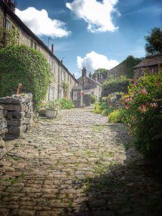 Back lane, Settle, Yorkshire, England