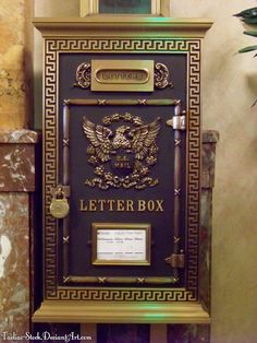 VINTAGE MAIL box | Vintage US Mailbox : 02 by taeliac-stock