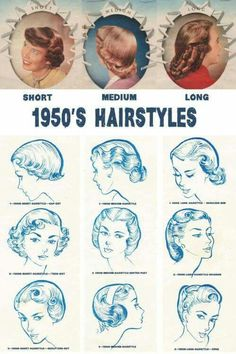 1950s Hairstyles men with long hair in 1950s Hairstyles 1950 More