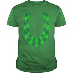 White Irish Shamrock Lei, Open End Poloshirts - Men's Polo Shirt----JVDQISF
