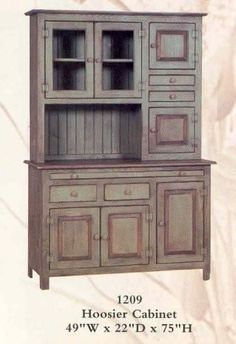 beautiful hoosier cabinet made and painted by amish craftsmen in pennsylvania  give your kitchen or rare antique vintage hoosier kitchen cabinet cupboard   ebay      rh   pinterest com