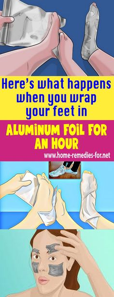 Here's what happens when you wrap your feet in #aluminum foil for an hour #remedy #health #healthTip #remedies #beauty #healthy #fitness #homeremedy #homeremedies #homemade #trends #HomeMadeRemedies #Viral #healthyliving #healthtips #healthylifestyle #Homemade