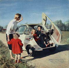 Motocoupé BMW Isetta 1960, Brochure Back Cover.