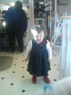 My granddaughter, Shyann.