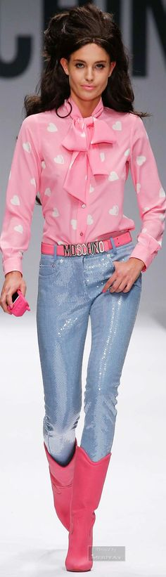 Moschino Spring 2015 | The House of Beccaria~
