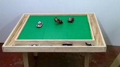 Large 9 plate lego table with storage troth around all sides. Storage troth allows your kids to keep their Legos handy without them being on the floor. This is