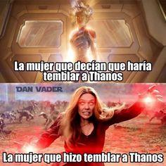 Memes de Marvel - Wanting Tutorial and Ideas Marvel Jokes, Avengers Memes, Marvel Girls, Marvel Dc Comics, Best Memes, Funny Memes, Mundo Marvel, Spanish Memes, Barbie