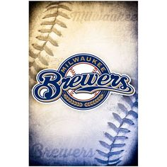 "Milwaukee Brewers 23"" x 34"" Logo Wall Poster"
