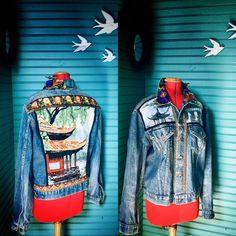 Denim, Jackets, Fashion, Down Vest, Jacket, Canvas, Down Jackets, Moda, Fashion Styles