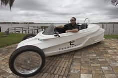 TerraCraft SuperTrike tilting leaning reverse Trike with CoPilot Interactive Lean Control www.terracraftmotors.com