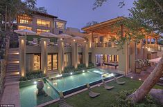 Villa Manzu Costa Rica Vacation Home Mansion Homes, Dream Mansion, Luxury Homes Dream Houses, Modern Mansion, Dream Pools, Exterior Design, Costa Rica, Future House, Beautiful Homes