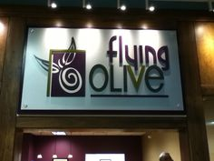 Flying Olive. Olive Oil and Balsamic Vinegar  tasting store. Cincinnati, Ohio.  www.flyingolive.com (Inside Jungle Jims... go there... now! lol)