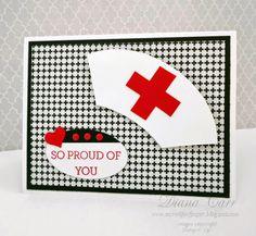 Stampin' Up! Nursing Graduation Card Crazy About You