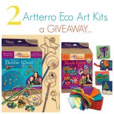 Artterro Eco Art Kit Giveaway - 2 arts and crafts kits