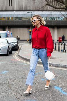 Street style à la Fashion Week automne-hiver 2017-2018 de Londres : Adenorah