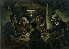 Vincent Van Gogh (1853-1890) - Les Mangeurs de pommes de terre, 1885 Huile sur toile - 82 x 114 cm -  Amsterdam, Van Gogh Museum - Photo : Van Gogh Museum