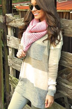 Made To Love Scarf: Pink