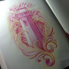 Hawaii Tattoos, Dad Tattoos, Badass Tattoos, Body Art Tattoos, Small Tattoos, Cool Tattoos, Tatoos, Tattoo Sketches, Tattoo Drawings