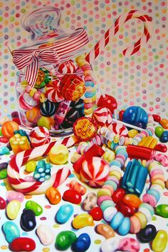 Kate Brinkworth_candy_oil on canvas