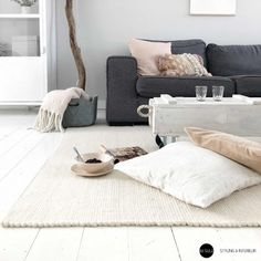 Decoration, Room Inspiration, Cribs, Throw Pillows, Bedroom, Stone, Interior, Table, Furniture