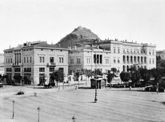 I have often daydreamed, if I had the means, which of the many pre-World War II buildings around Athens that have been abando. Old Photos, Vintage Photos, Old Greek, London Hotels, Athens Greece, Old City, Manga, 19th Century, Places To Visit
