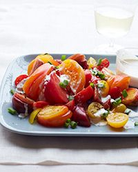 Tomato Salad with Horseradish Ranch Dressing Recipe on Food & Wine