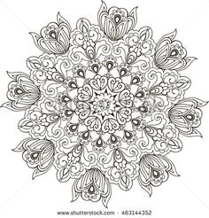 Find Floral Mandala Coloring Antistress Mandala Paisley stock images in HD and millions of other royalty-free stock photos, illustrations and vectors in the Shutterstock collection. Printable Coloring Pages, Colouring Pages, Adult Coloring Pages, Coloring Sheets, Coloring Books, Trippy Drawings, Colorful Drawings, Mandalas Drawing, Zentangles