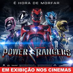 É hoje hein #Gamedolatras anotem na agenda :) #EuVou #PowerRangers #Saban #FOX #Invite #Cinema #movie #ZacEfron #MightyMorphin #LGBT #YellowRanger #Inclusion #Morph