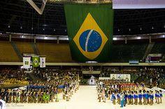 56º Mundial de Patinação Artística - Brasília 2011  56th World Championships Artistic Roller Figure Skating 2011.   Abertura oficial.   photo: João Guilherme / DF